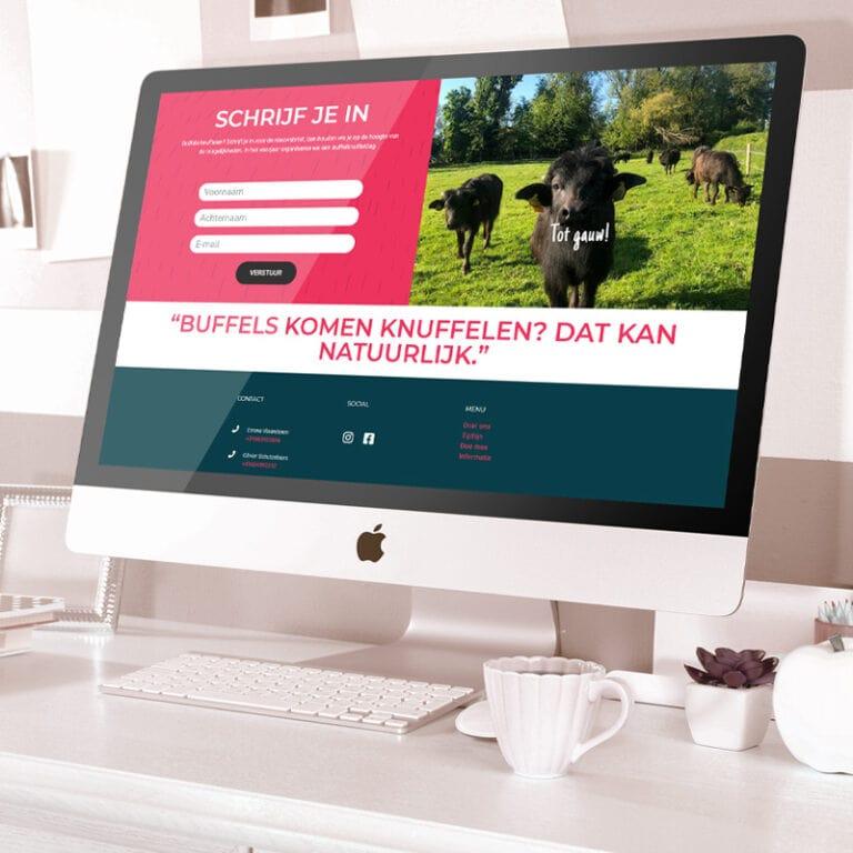 Website design door Marlies Ontwerpt