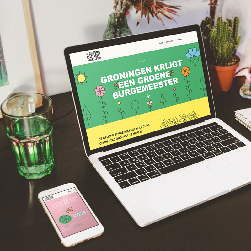Website design door Marlies Ontwerpt